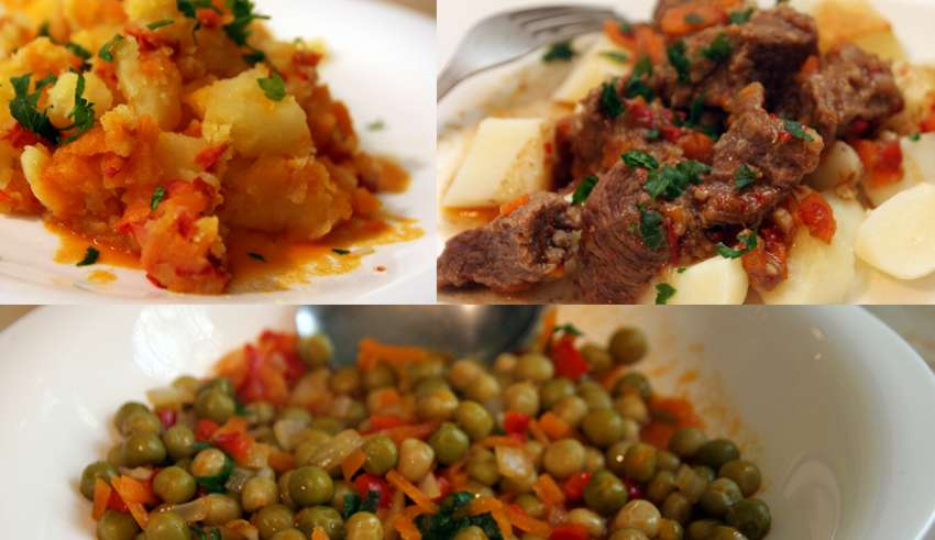 Tocanita cu legume sau carne