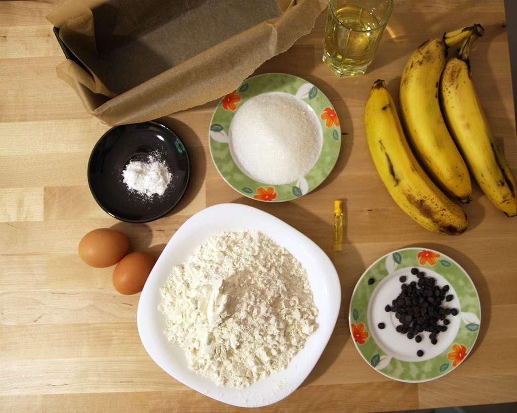 Banana bread - ingrediente