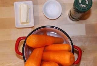Ingrediente piure de morcovi