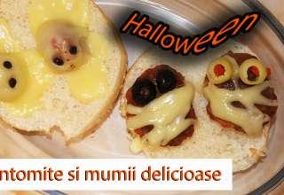 Fantomite si mumii delicioase, pentru Halloween