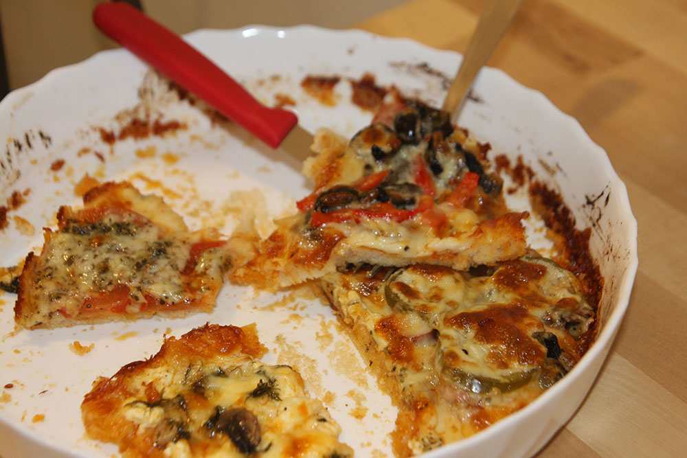 Reteta pizza 6 variante  - felii